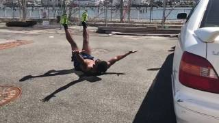 jumping over a car Video