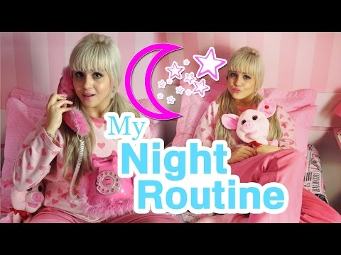 Minha Rotina da Noite ★ Bruna Barbie   My Night Routine ☽