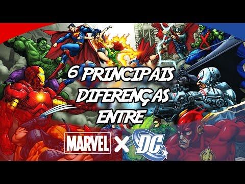 6 Principais diferenças entre a Marvel e DC Comics