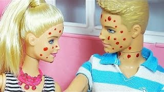 БАРБИ ЗАБОЛЕЛА! Барби лечит зубы у стоматолога! Детский мир   игры и мультики