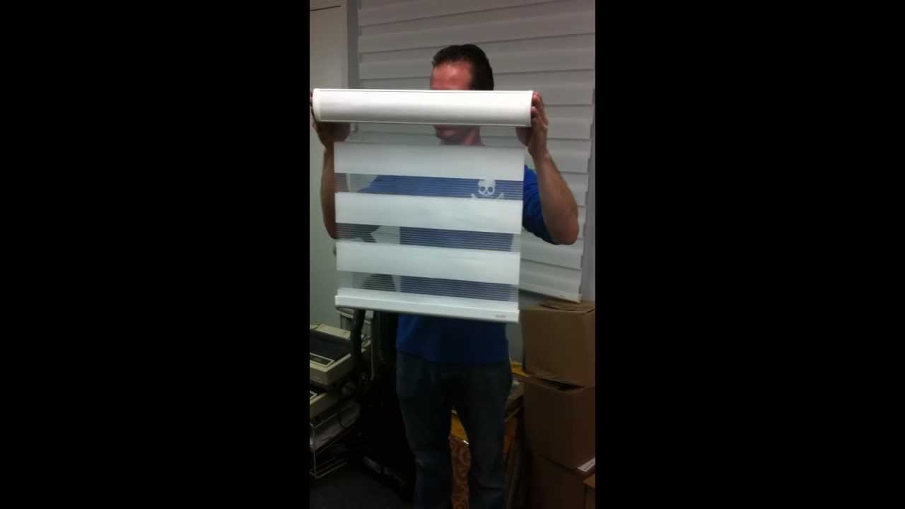 Motorized shades dual shades sheer elegance by for Motorized blinds not working