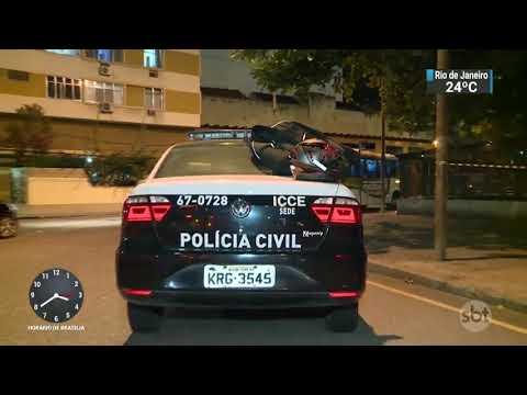 Suspeito morre baleado em tentativa de assalto em frente à UERJ | SBT Notícias (13/10/17)