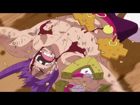 Luffy Destroys Cracker - One Piece 806 ENG SUB HD