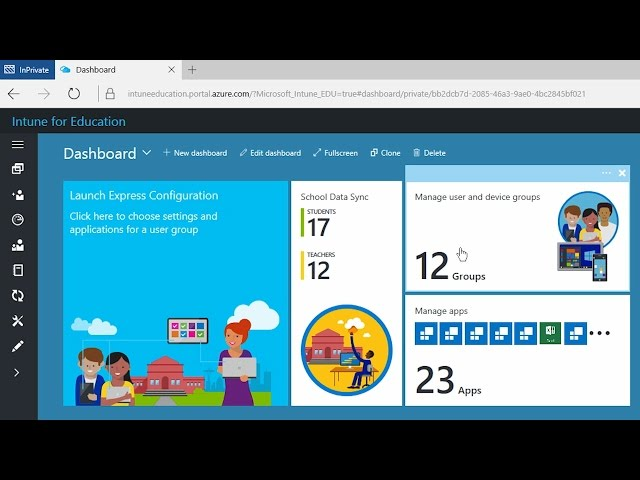 Announcing Intune for Education & new Windows 10 PCs for
