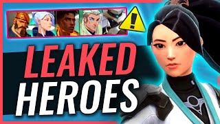 Project A Heroes LEAKED - Ability Info And More News | Riot Games VALORANT