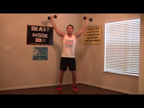 5 Minute Shoulder Workout HASfit Shoulder Exercises Deltoid Workouts for Shoulders Work Out