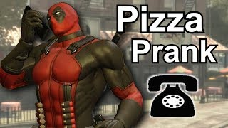 Deadpool Prank Call Machinima