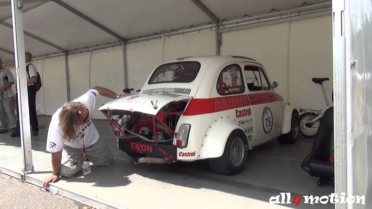 Free Race Car Wallpapers 1968 Fiat 500 Corsa Race Car Loud Engine Noise