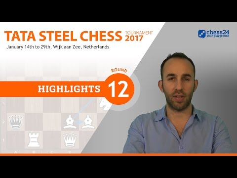 Game of the Day - Eljanov - Carlsen - 2017 Tata Steel Masters