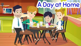 A Day at Home -  English Conversations at Home for Parent and Child