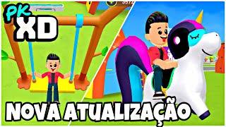 PKXD NOVA ATUALIZAÇÃO COM MUITO MAIS ÍTENS! GAMEPLAY PETER GAMES PETER TOYS