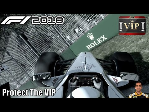 F1 2018 Protect the VIP