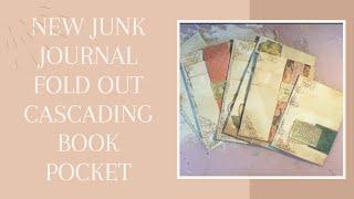 TUTORIAL - NEW Pocket Pad Foldout for Junk Journals - Shabbydabbydoodah