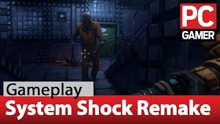 System Shock remake demo gameplay - 1440p at 60fps