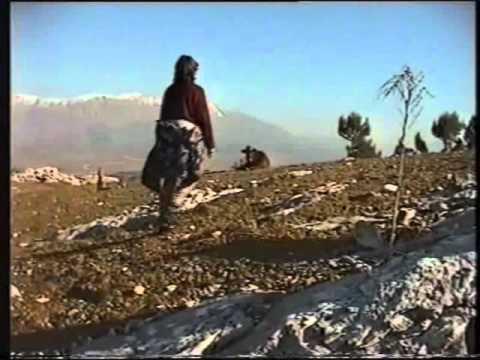 A Mountain Scramble in  Gjirokaster, Albania