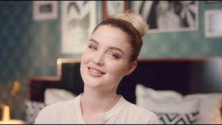 Видеоурок красоты: быстрый пучок на влажных волосах