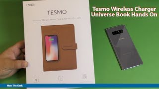 Tesmo Wireless Charger Universe Book Hands On