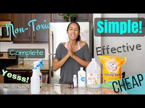 5 Ingredients for Complete House Cleaners Recipes – Simple, Cheap, Eco-Friendly! (Minimalist Living)