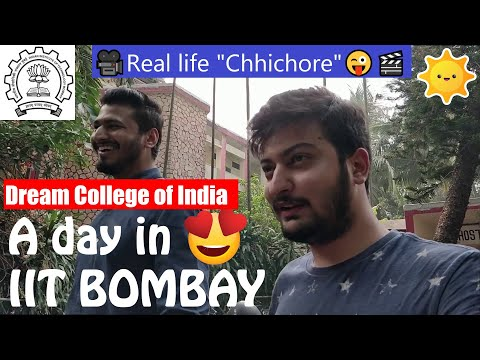 A Day In IIT Bombay 😍  Campus Life, Hostel, Mess, Lifestyle   Dream College Of India   IIT-JEE