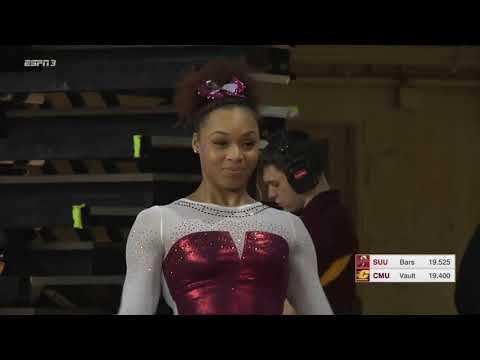 College Gymnastics - 2018-02-02 - Central Michigan vs Southern Utah