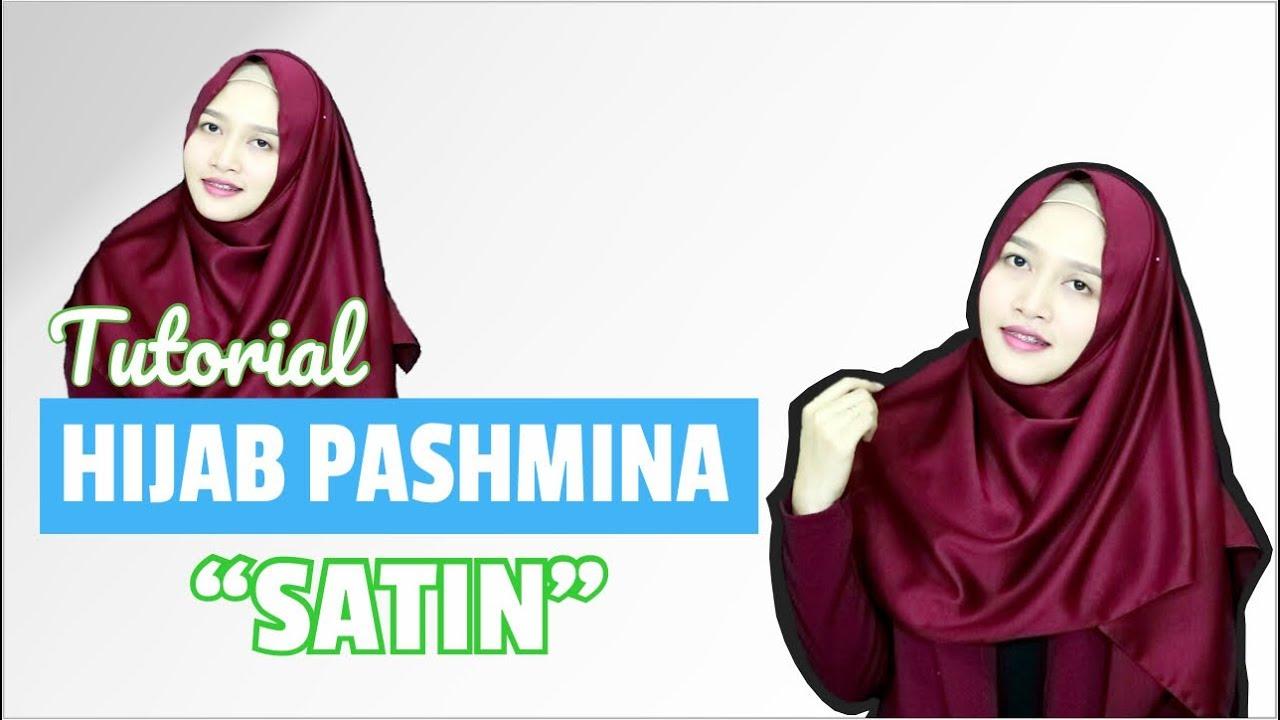 Tutorial Hijab Pashmina Satin Menutup Dada Terbaru 2017 Amalia Kurnia Indonesia Youtube