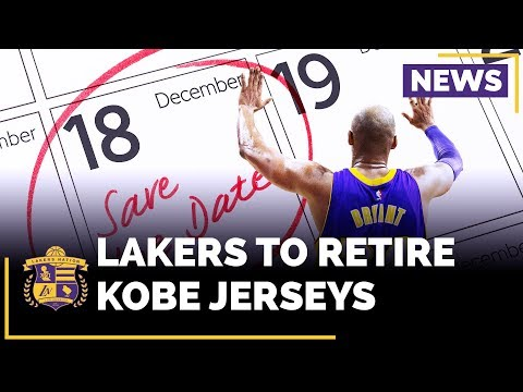 Lakers Set Date To Retire BOTH Of Kobe Bryant's Jerseys