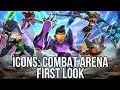 Icons Combat Arena (Free Brawler): Watcha Playin'? Gameplay First Look (Closed Beta)