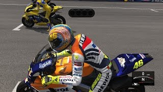 Valentino Rossi The Game - MotoGP(4-Stroke) 2002 - LAGUNA SECA
