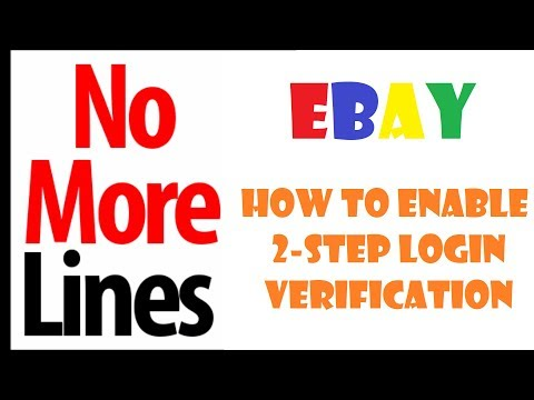 How To Enable 2 Step Verification On EBay Account Login