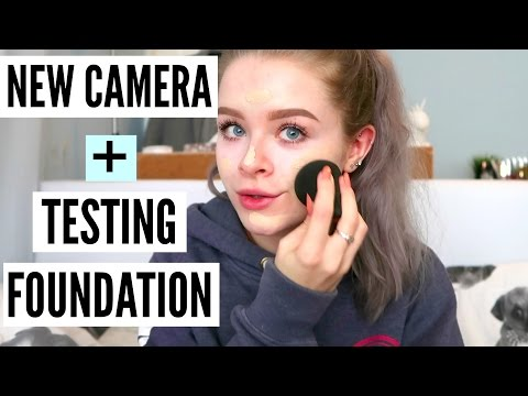 NEW CAMERA & TESTING A NEW FOUNDATION! | sophdoesvlogs