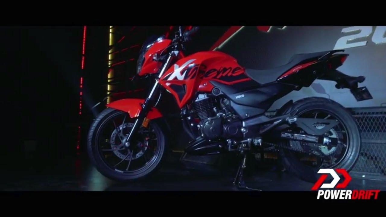 90d92d1c4b Hero Xtreme 200R   First Look   PowerDrift - YouTube