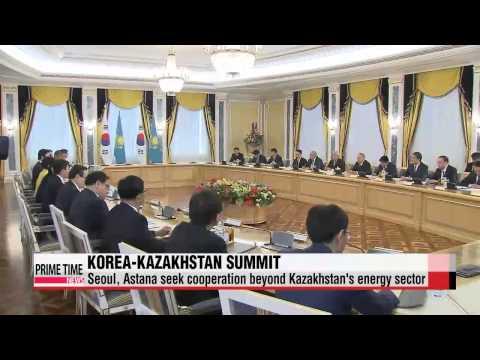Leaders of Korea, Kazakhstan look to expand joint business projects in Kazakhstan