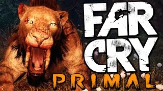 HUNTING THE RARE BLOODFANG SABRETOOTH TIGER (Far Cry Primal Funny Moments)