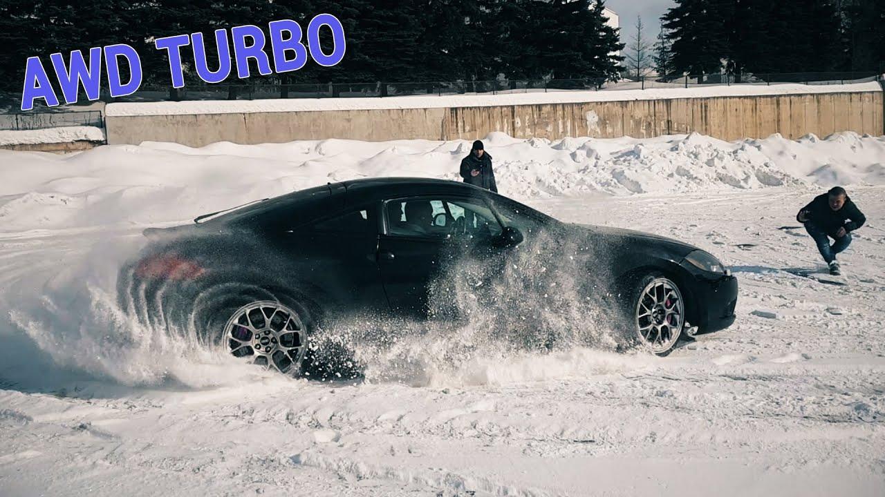 Mitsubishi Eclipse Gs Awd 4g Snow All Wheels Burnout