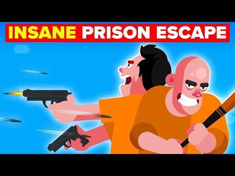 Maximum Security Prison Escape And Insane Crime Spree