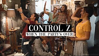 control z | when the party's over