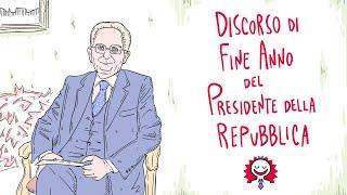 Discorso di fine anno del Presidente della Repubblica 2020