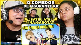 MINHA MÃE REAGE AO COMEDOR DE FIGURANTE KKKKKKKKKKK | Rafoso