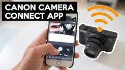 Canon Camera Connect App | WLAN Verbindung zwischen Kamera und Smartphone