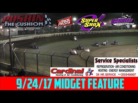 LaSalle Speedway - 9/24/17 - Midgets - Feature