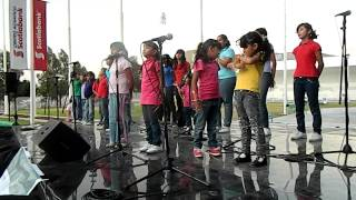 Escuela para niños ciegos de Guadalajara CONCIERTO EN EL CENTRO ACUATICO SCOTIABANK Color Esperanza