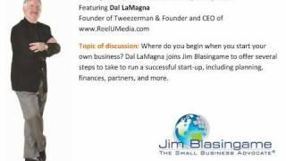 Jim Blasingame with Dal LaMagna November 4, 2010