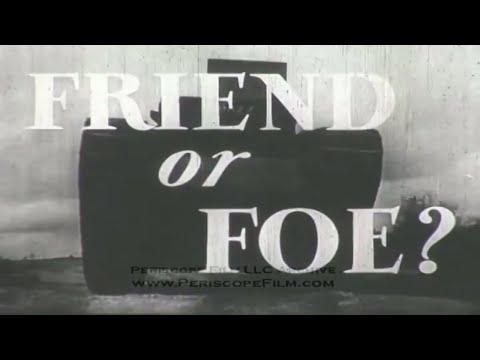 FRIEND OR FOE  WWII BRITISH ARMY TANK IDENTIFICATION FILM 3450