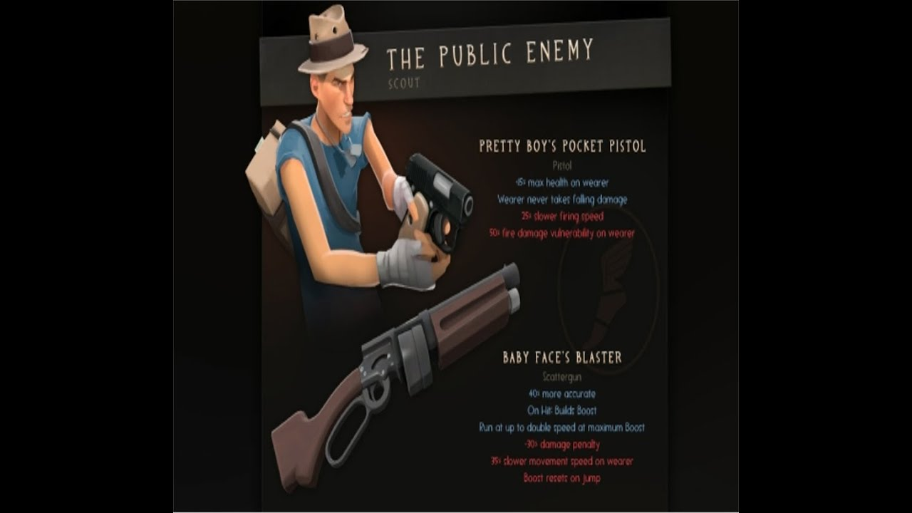 TF2: The Public Enemy (Baby face's blaster solo) - YouTube
