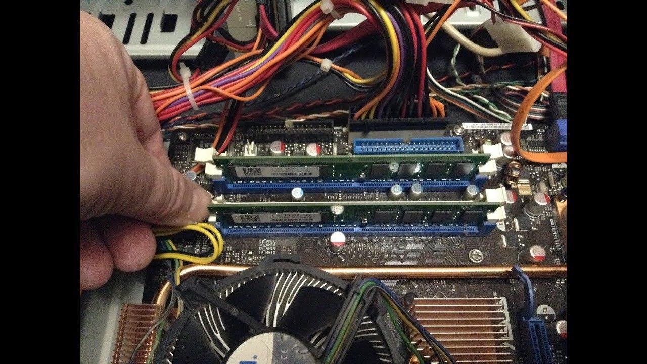 фото оперативной памяти в системном блоке рыбка нам