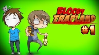 DEADLY BROFISTS! - Pewds & Cry Plays: Bloody Trapland - Part 1