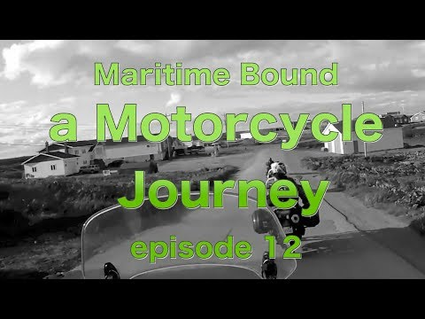 Maritime Bound: A Motorcycle Journey (to Newfoundland)   Episode 12: travelling across the island