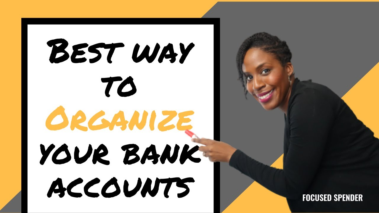 The BEST and EASIEST Way to Organize Your Bank Accounts | How Many Bank Accounts Do You Need??