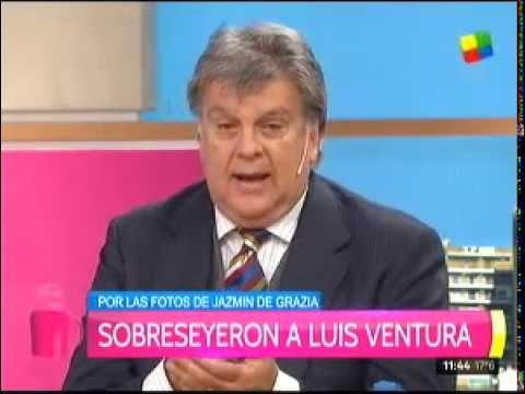 Luis Ventura sobreseído por las fotos de Jazmín de Grazia muerta