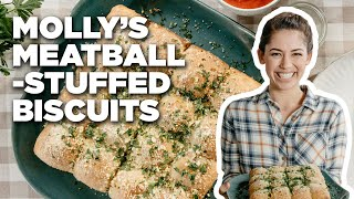 Meatball-STUFFED Biscuits with Molly Yeh | Food Network